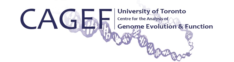 CAGEF Centre for the Analysis of Genome Evolution & Function